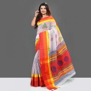 Exclusive Baishakhi Silk Butics Saree For Women