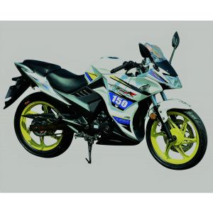 Lifan KPR 150 Motorcycle White & Yellow