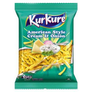 Kurkure Large American Style cream & onion - 50 g
