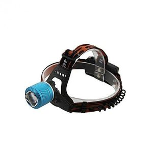 Rechargeable LED Head Lamp - Black and Blue