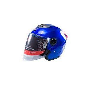 Helmet -XBK Half Face Helmet 603 Glossy Blue