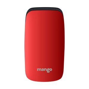 Mango MF1 - Folding Feature Phone - Money Detector - MTK Chipset - Dual SIM - Red