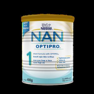 Nestlé NAN 1 Follow Up Formula With Optipro TIN - 400 gm