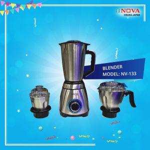 NOVA BLENDER & JUICER- NV-133 (3 IN 1)