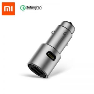 Xiaomi AP821 Car Charger USB Output Dual Quick Charge QC 3.0 - Grey