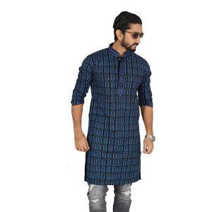 Printed Cotton Panjabi For Men