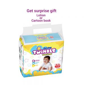 Twinkle Baby Diaper - XXL - 9 - pcs