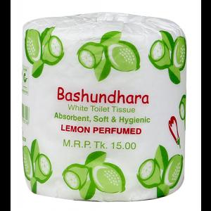 Bashundhara Toilet Tissue - Lemon White Perfume