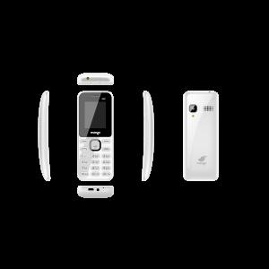 Mango MB1 - Feature Phone - Dual SIM - Curved Display - Battery 1000mAh - White